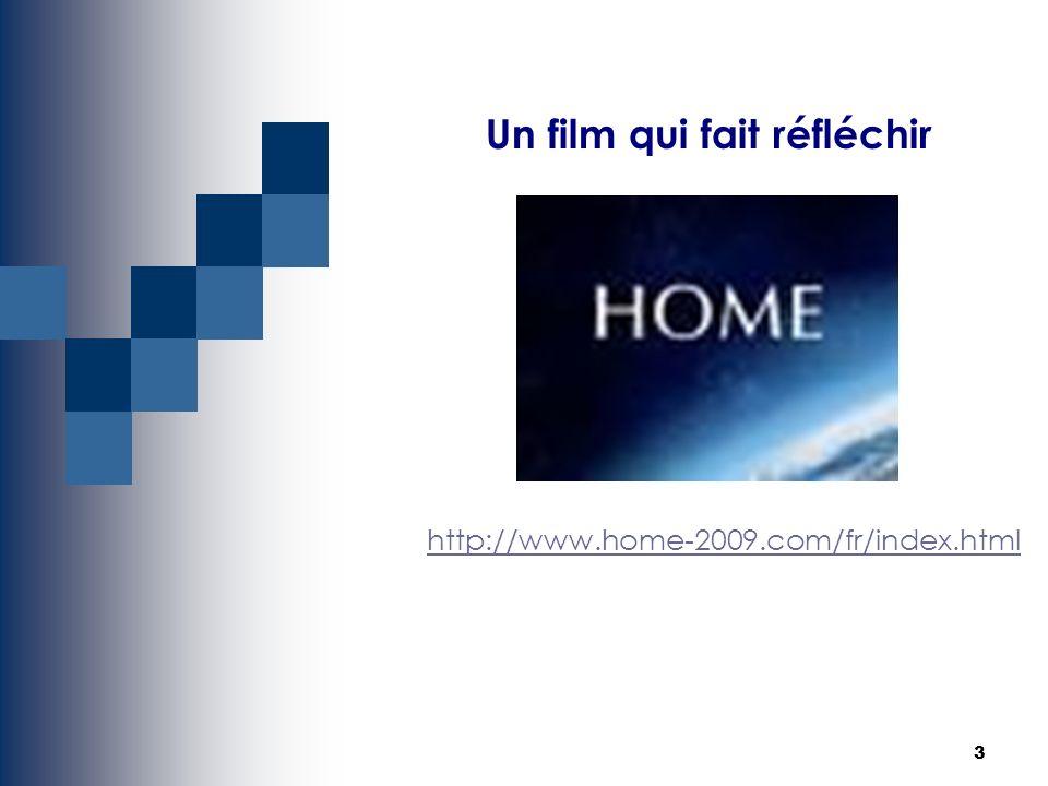 3 Un film qui fait réfléchir http://www.home-2009.com/fr/index.html