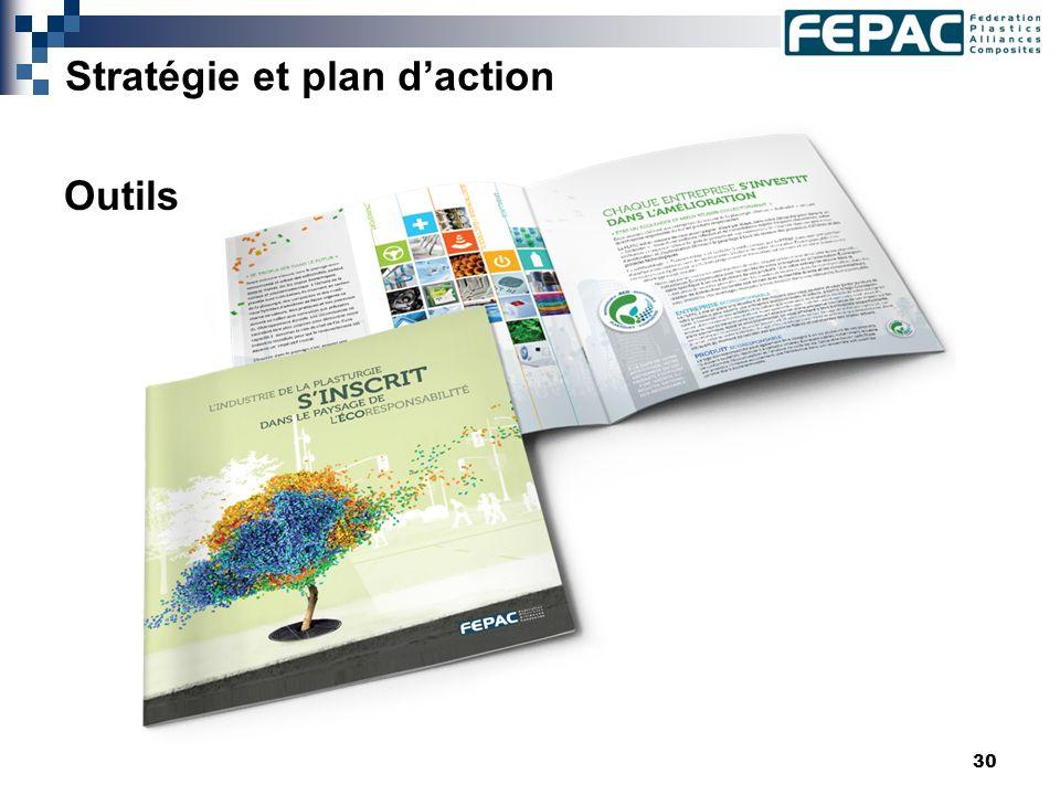 30 Stratégie et plan daction Outils