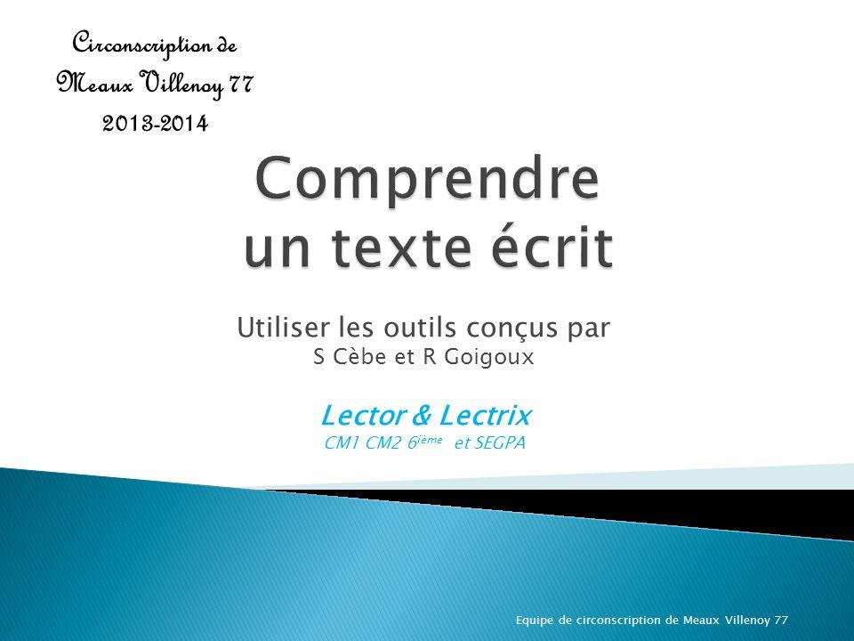 Les résultats des élèves français sont surreprésentés dans le groupe le plus faible, et sous représentés dans le groupe de plus haut niveau En France, la compréhension est souvent évaluée mais fait rarement lobjet dun enseignement spécifique.
