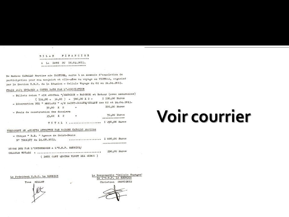 Lettre de leur Avocat. Lettre de leur Avocat. Prise de contact avec Pierre Michel MARTAY. Prise de contact avec Pierre Michel MARTAY. Remboursement de