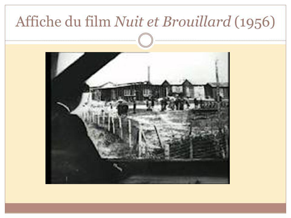 Affiche du film Nuit et Brouillard (1956)