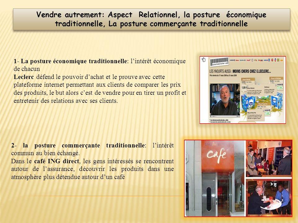 1- La posture économique traditionnelle: lintérêt économique de chacun Leclerc défend le pouvoir dachat et le prouve avec cette plateforme internet pe