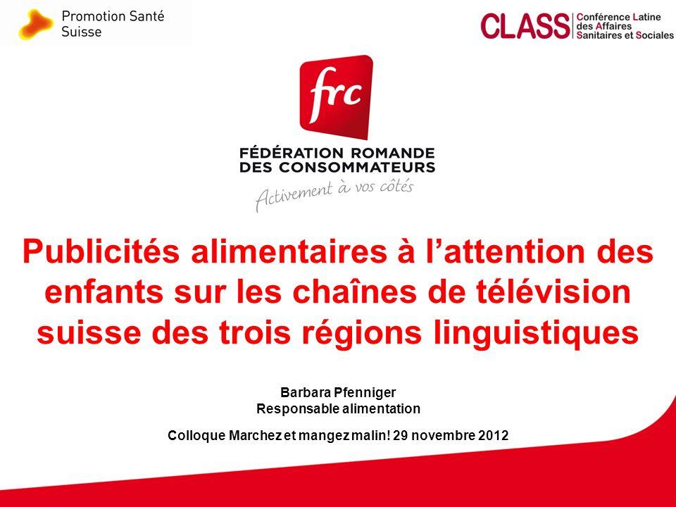 12 Colloque Marchez et mangez malin! Genève - 29.11.2012 Entreprises présentes