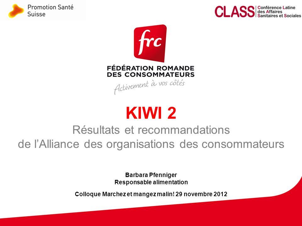 13 Colloque Marchez et mangez malin! Genève - 29.11.2012 Swiss Pledge