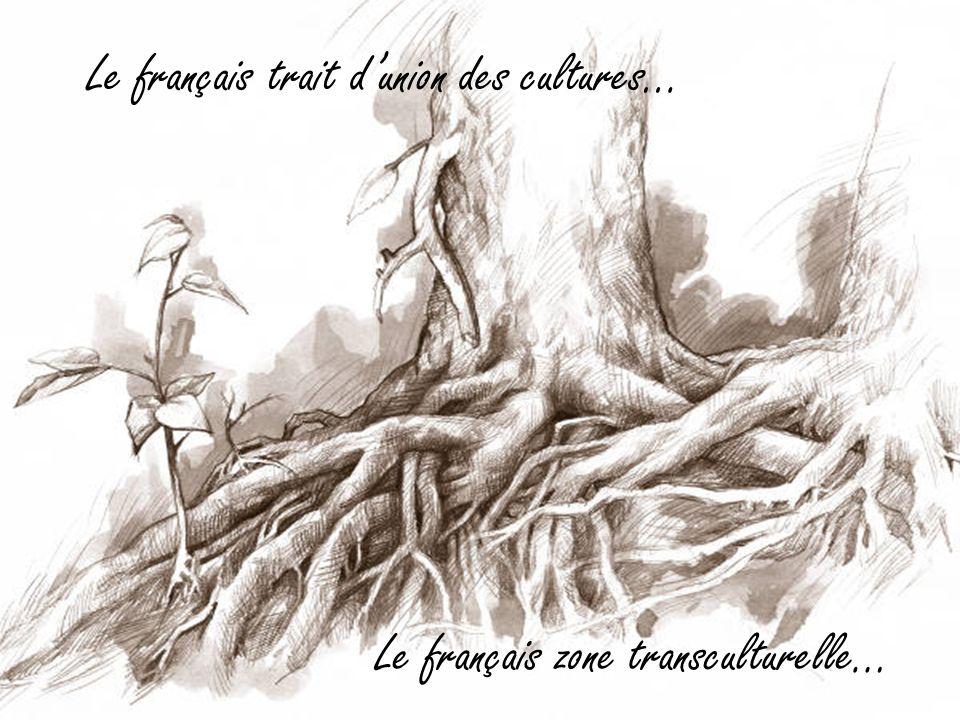 Le français trait dunion des cultures… Le français zone transculturelle…