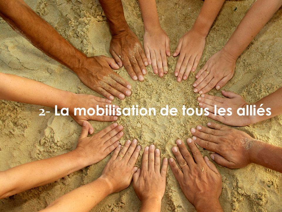 2- La mobilisation de tous les alliés