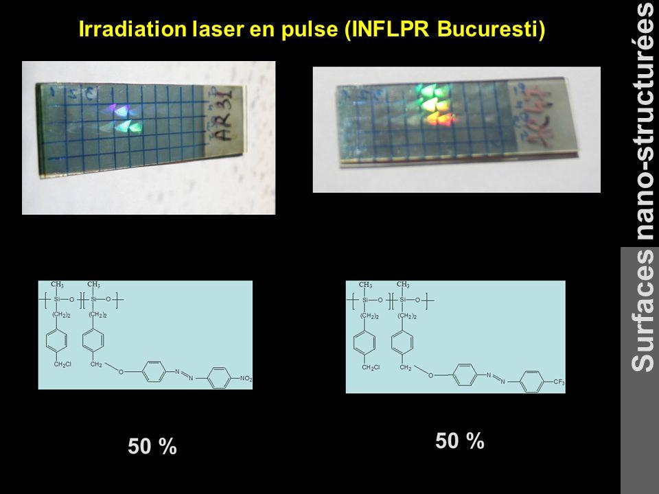Surfaces nano-structurées