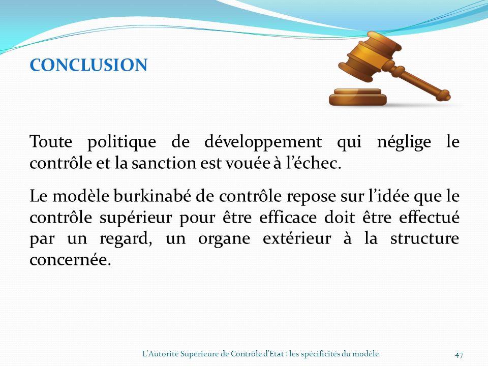 III- LA SPECIFICITE DE LASCE DANS SON FONCTIONNEMENT (SUITE) 3.2.4.