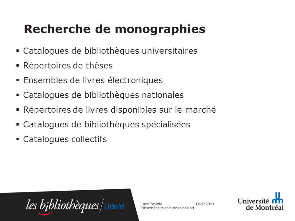 Le portfolio documentaire Description Utilité Désavantages Avantages Luce Payette Hiver 2011 Bibliothécaire en histoire de l art