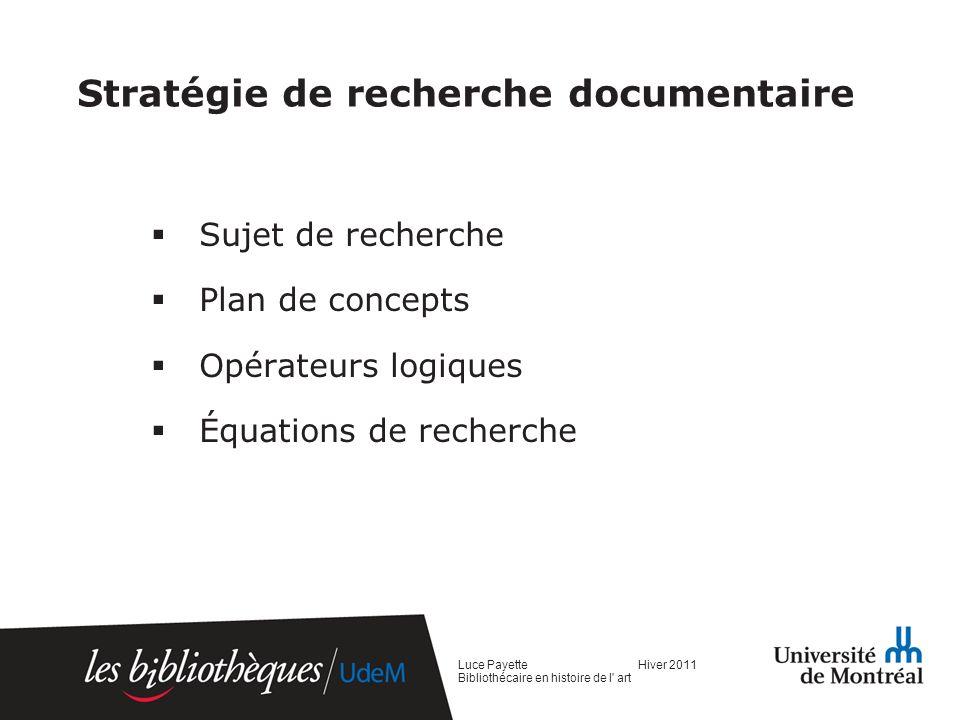 SUJET Définir son sujet http://www.bib.umontreal.ca/SS/apprendre/capsules-video.htm Discipline/ domaine de mon sujet.