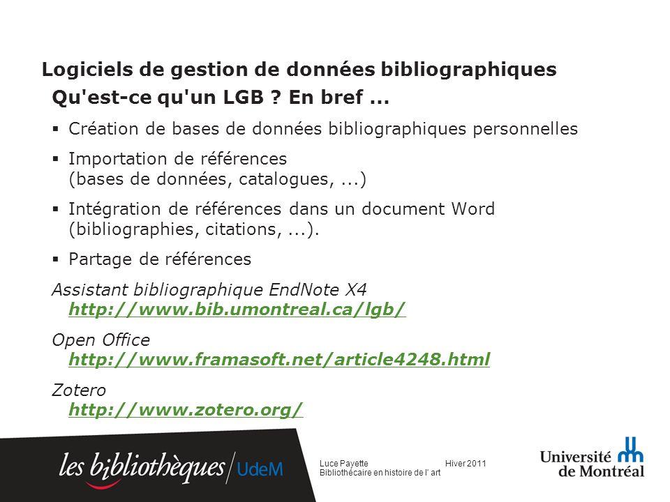 III.Les catalogues Catalogue ou base de données.