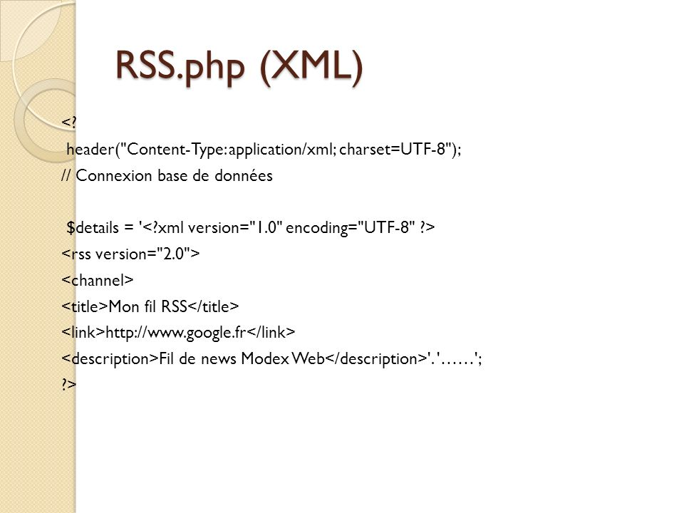 RSS.php (XML) <.