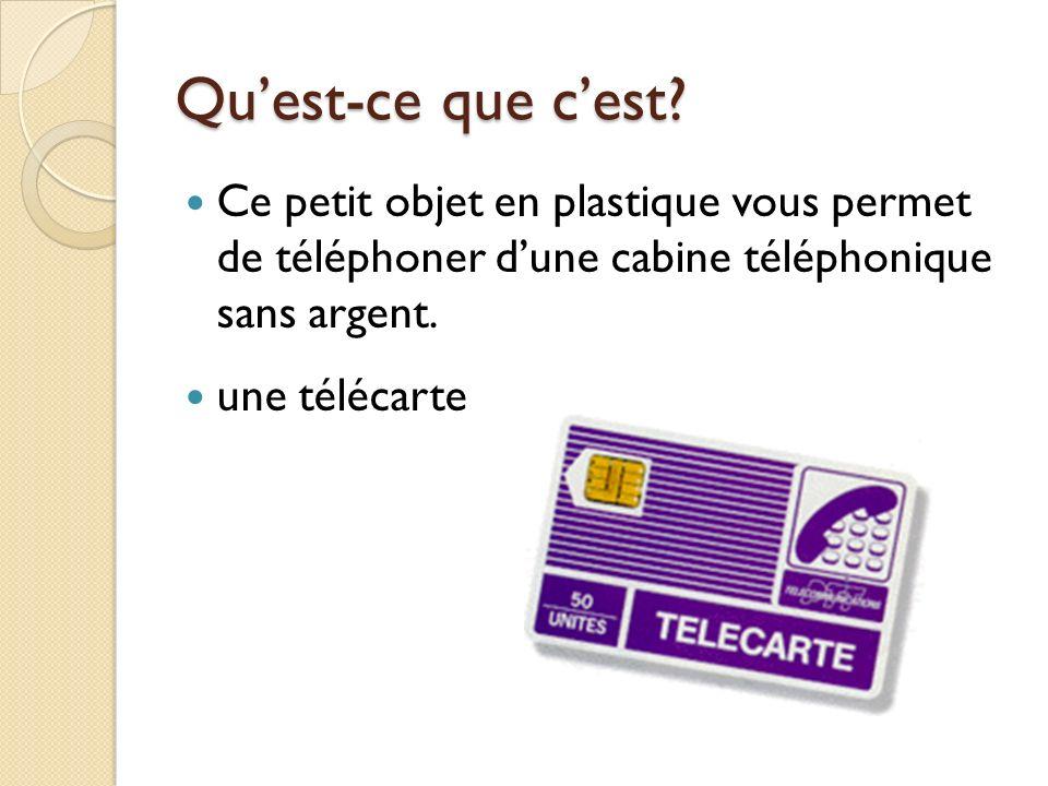 Pour téléphoner On décroche (le combiné/le récepteur) et on attend la tonalité.