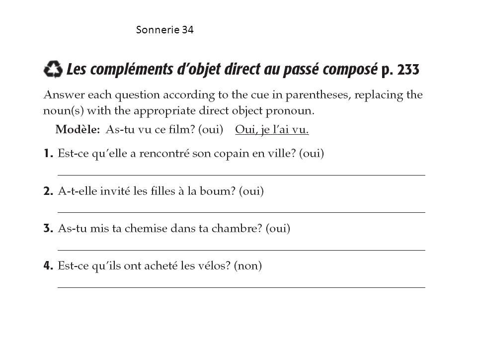 Sonnerie 34