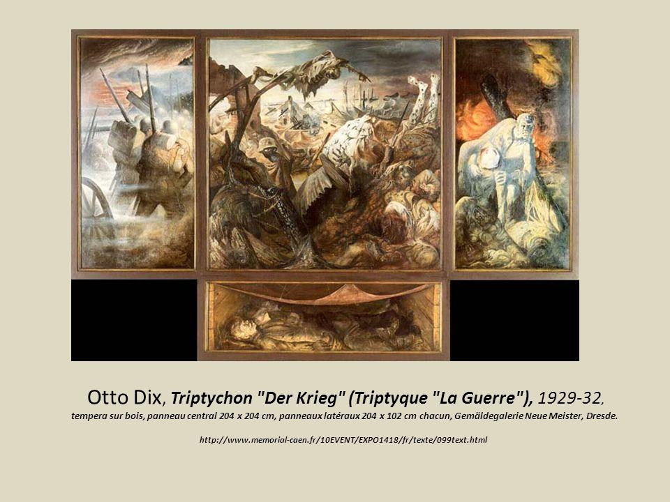 Otto Dix, Triptychon