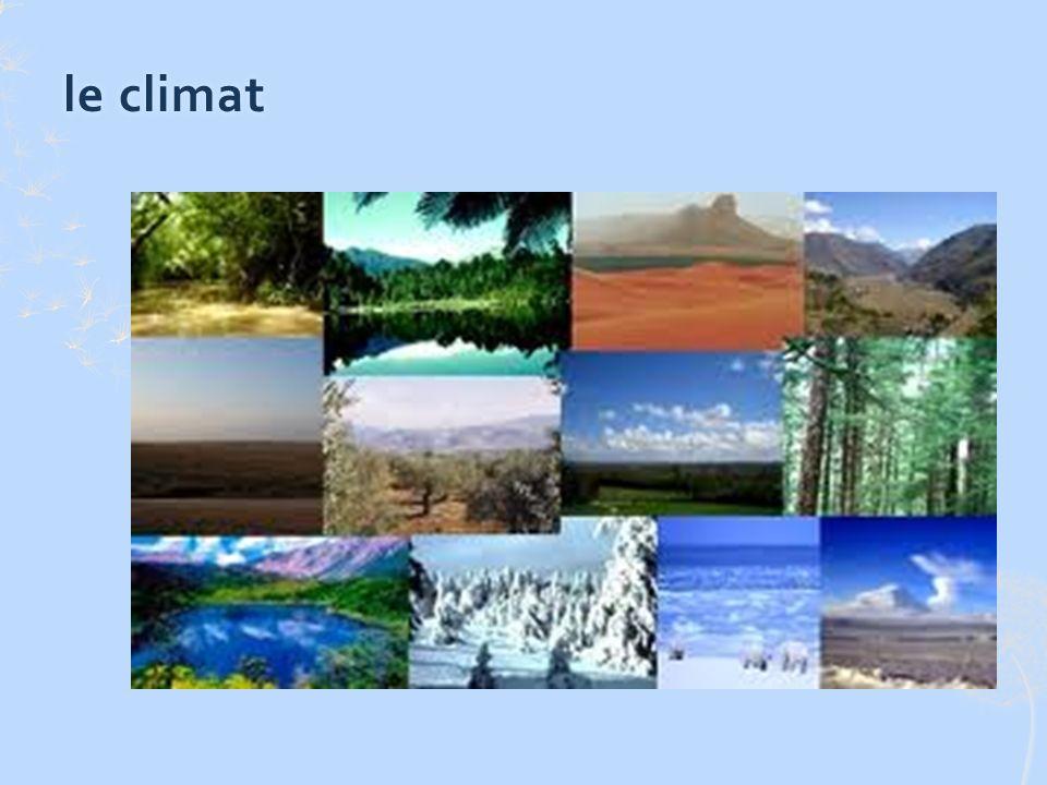 le climatle climat