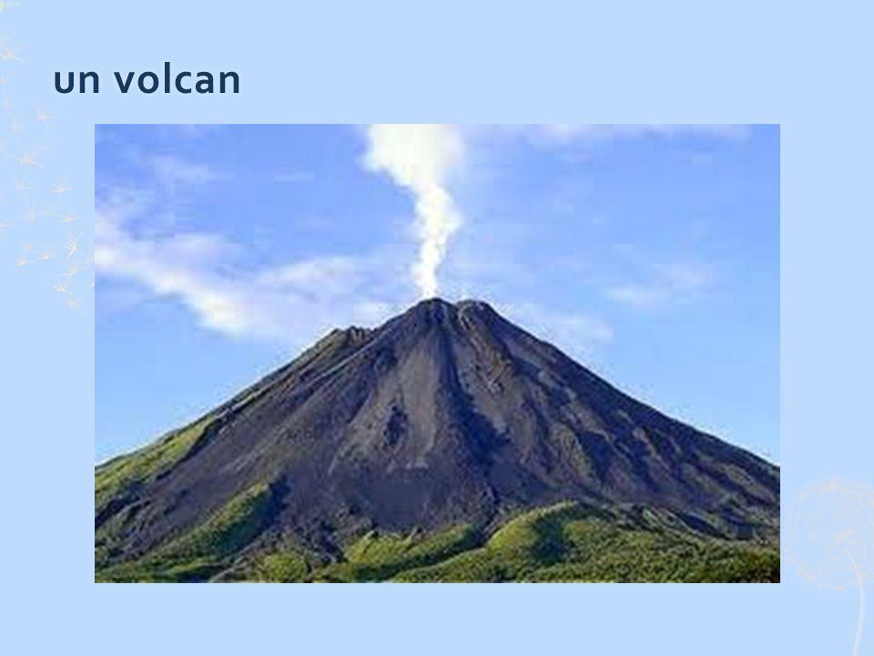 un volcanun volcan