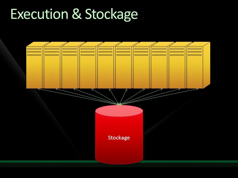 Execution & Stockage Stockage