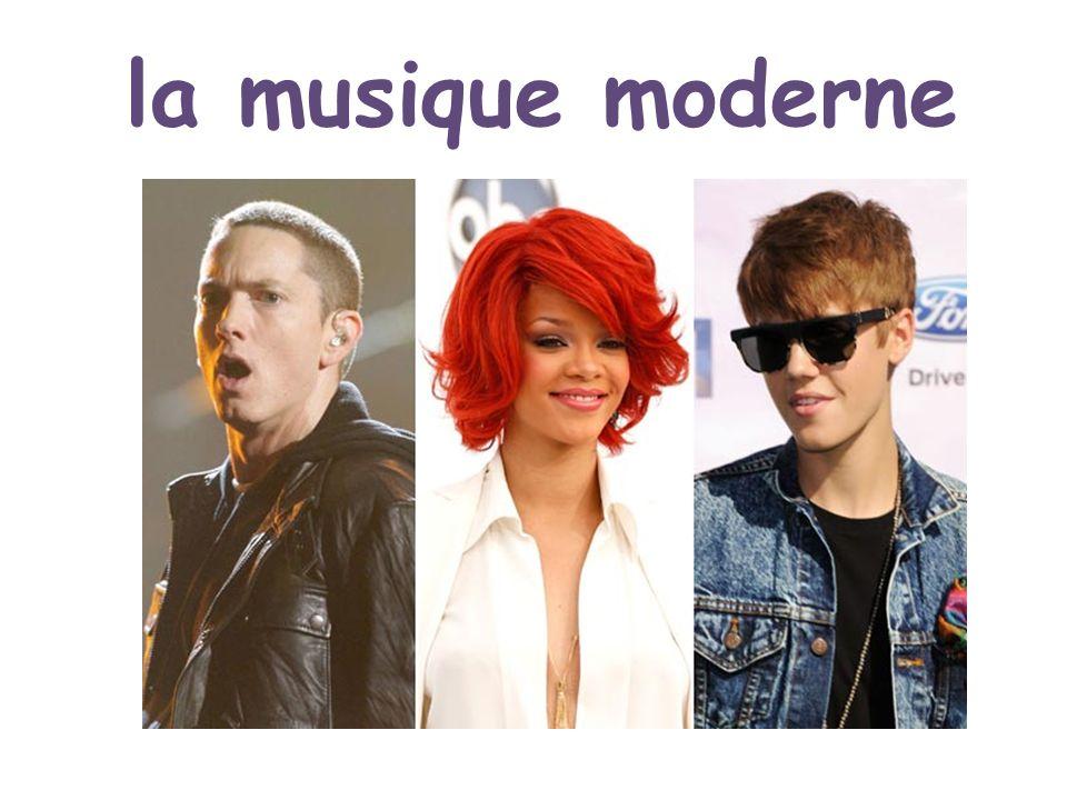 la musique moderne