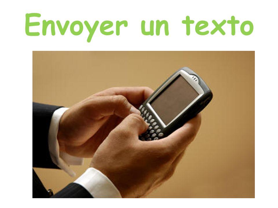 Envoyer un texto