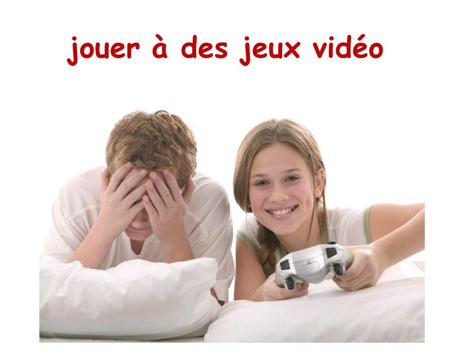 jouer à des jeux vidéo