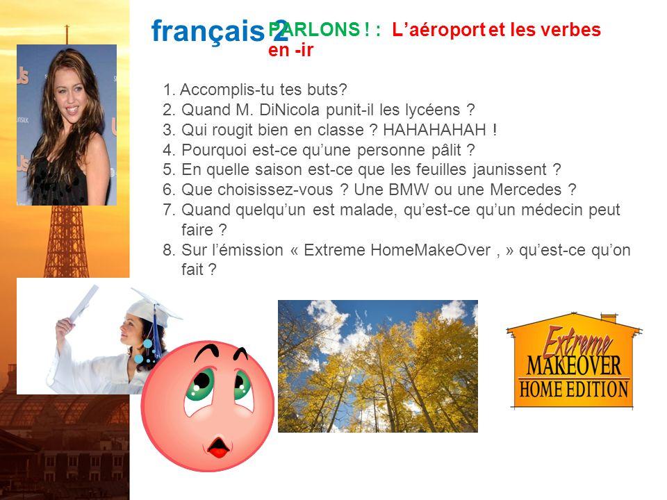 français 2 PARLONS .