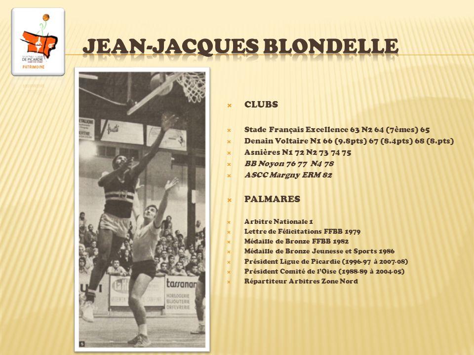 Né le 19/04/1981 à Creil, 1m88 CLUBS Nogent-sur-Oise CO Beauvais GAS Chantilly benj 95 ASG Gauchy minimes nat.