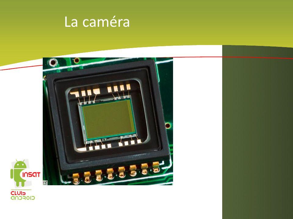 La caméra IMAGE CAMéRA EMBARQU2 DANS UN ANDROPHONE