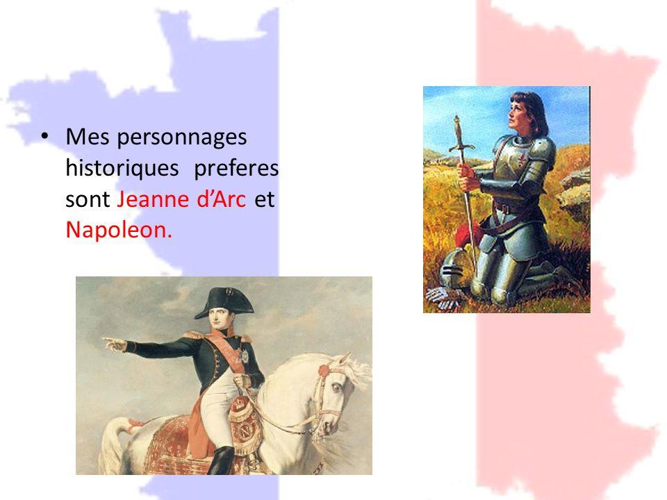 La periode historique que je prefere est la Revolution francaise, qui a debute le 14 juillet 1789, avec la prise de la Bastille.
