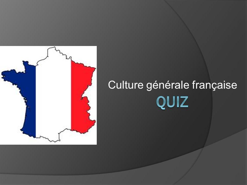 Culture générale française