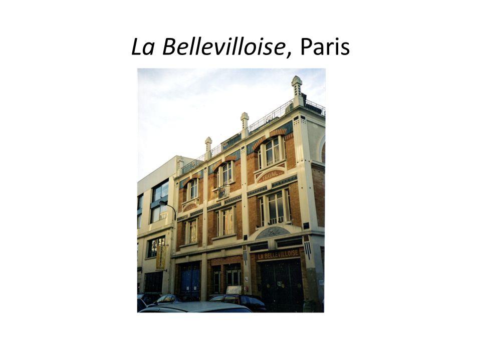 La Bellevilloise, Paris
