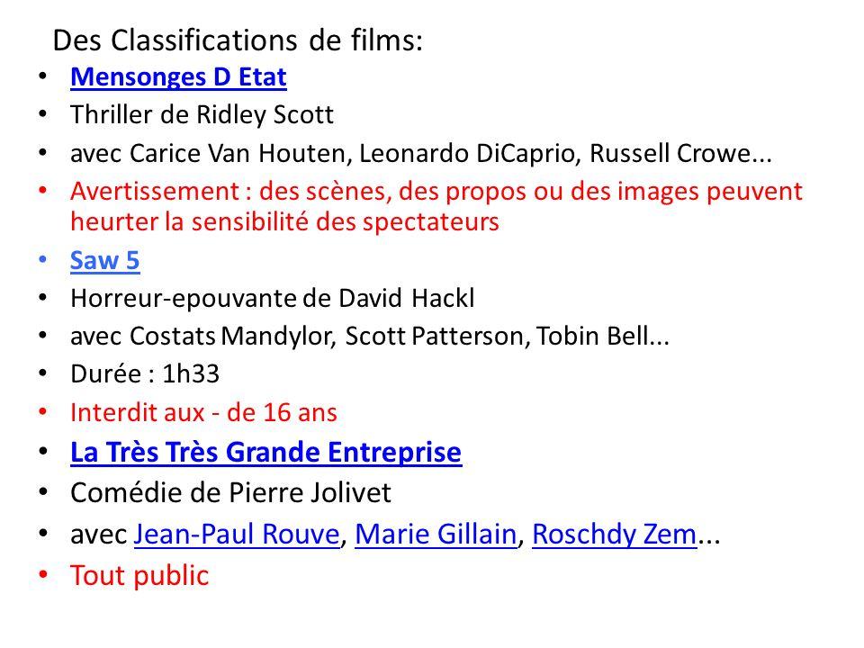 Mensonges D Etat Thriller de Ridley Scott avec Carice Van Houten, Leonardo DiCaprio, Russell Crowe... Avertissement : des scènes, des propos ou des im