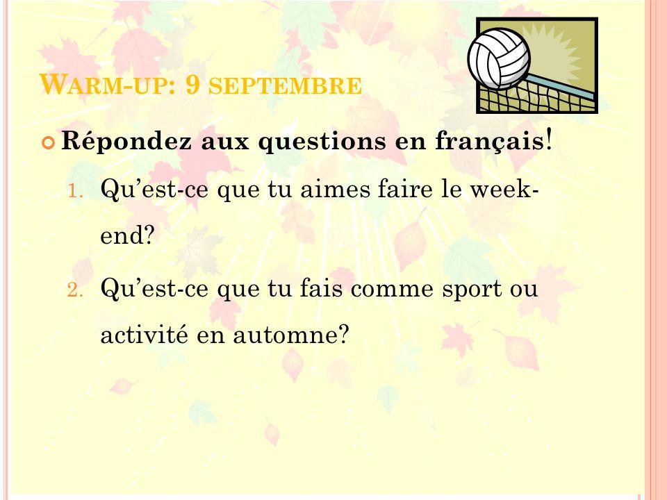 -ER VERB REVIEW All regular –er verbs (danser, nager, parler, regarder…) follow the same conjugation pattern in French.