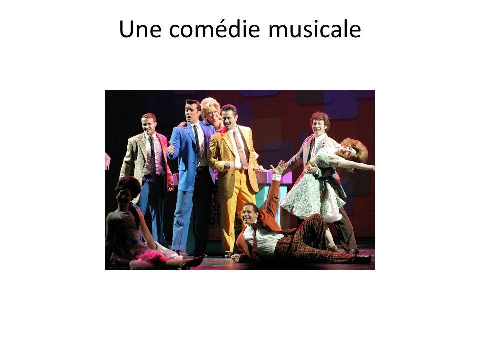 Une comédie musicale