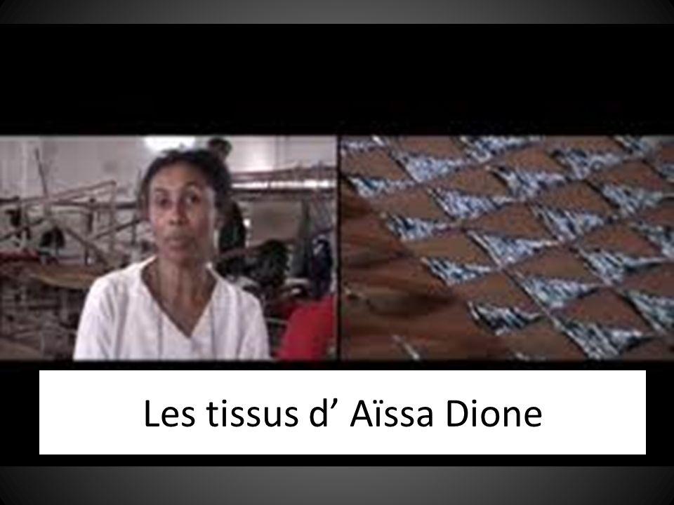 Les tissus d Aïssa Dione