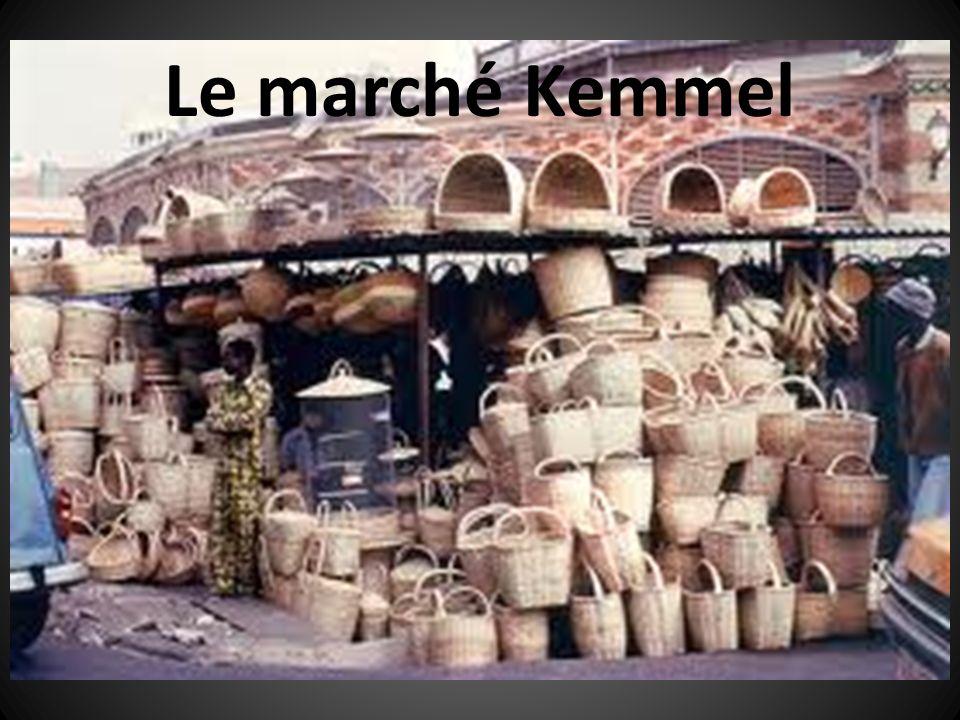 Le marché Kemmel