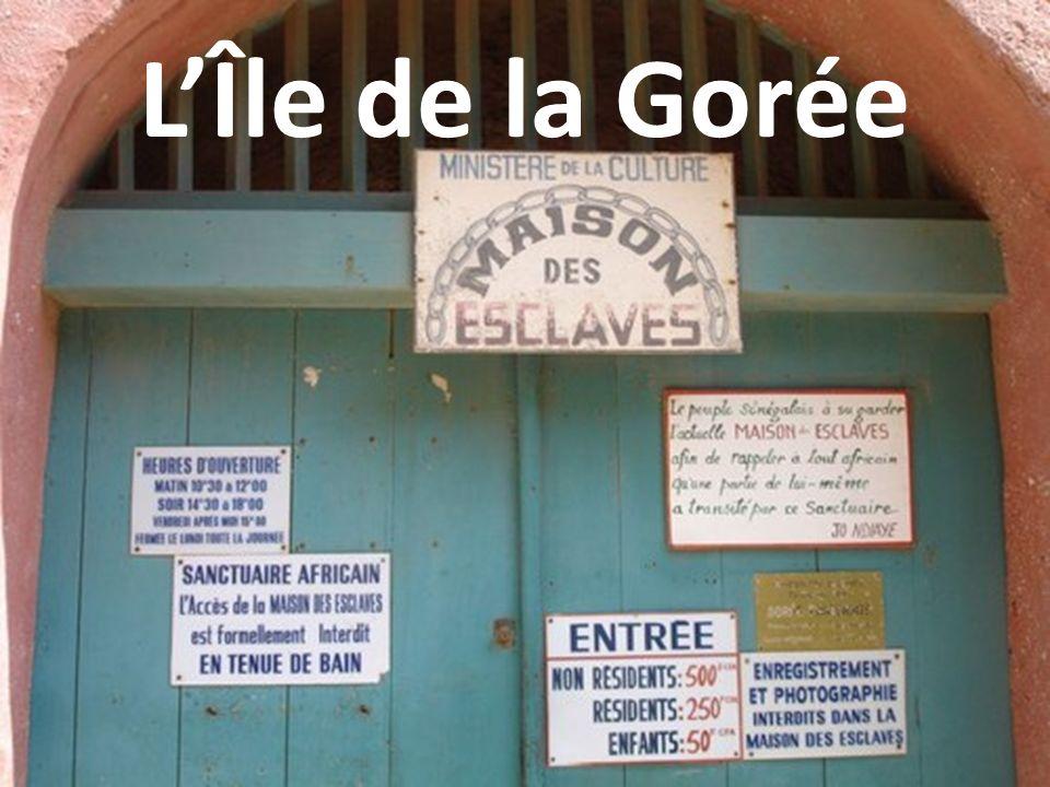 LÎle de la Gorée