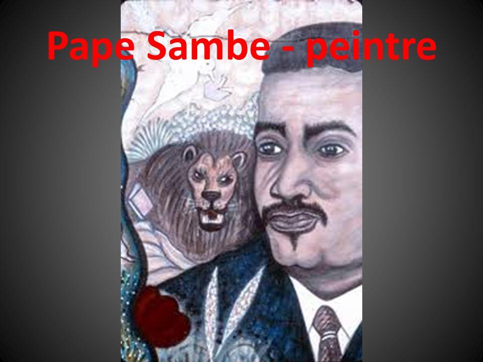 Pape Sambe - peintre