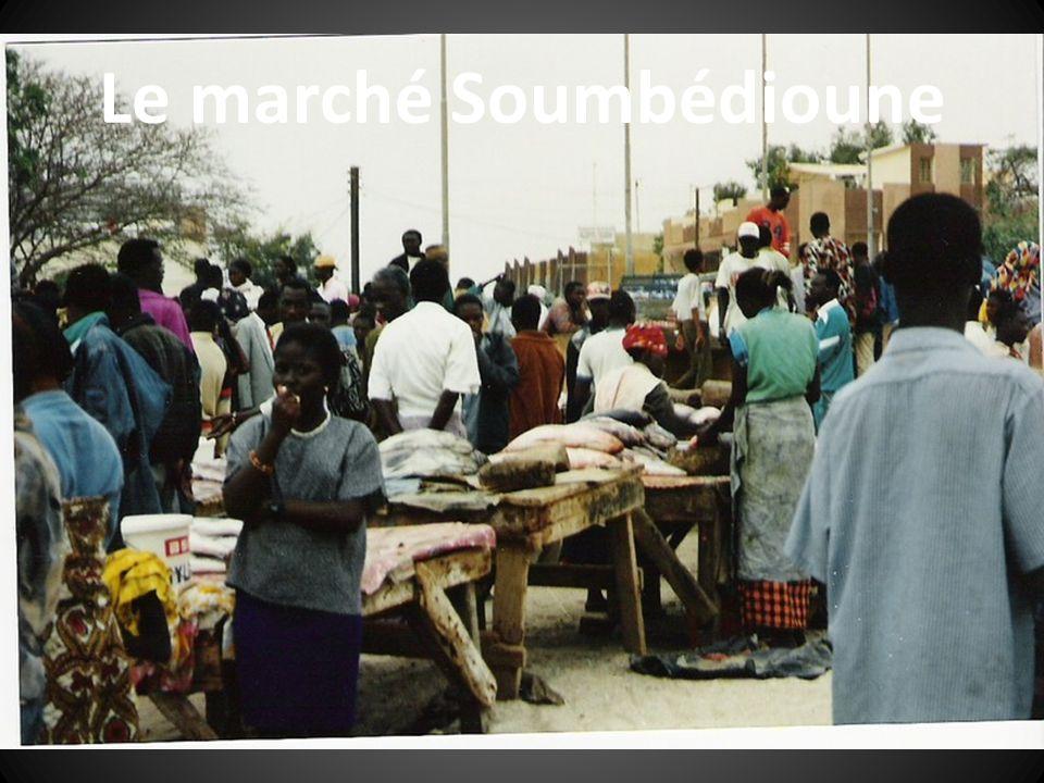 Le marché Soumbédioune