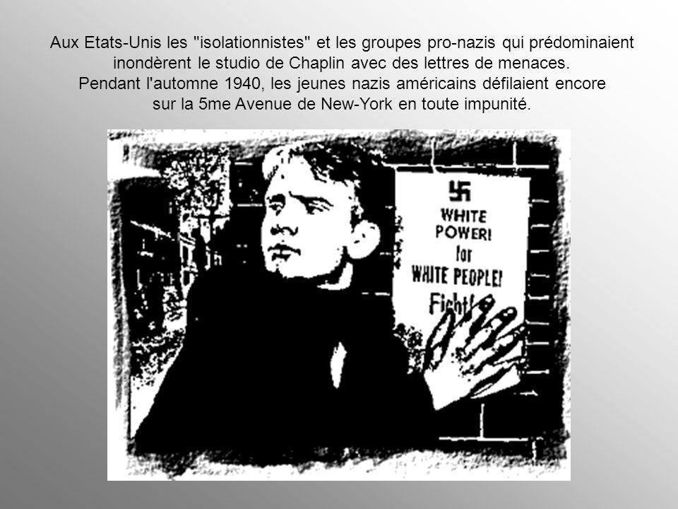 Les périodiques du magnat de la presse William Randolph Hearst, favorables au gouvernement de Hitler et chaque fois plus proche de l'extrême droite, t