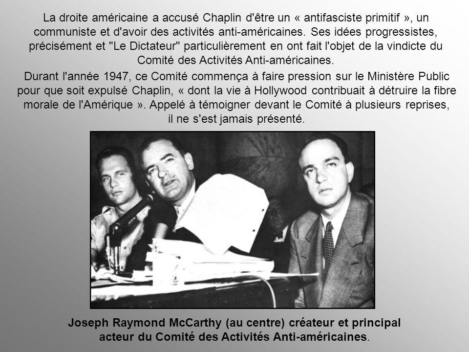 Sous les gouvernement fascistes, «Le Dictateur» a été interdit, en Italie, en Allemagne, en Espagne, en Europe occupée, au Brésil, au Costa Rica, en A