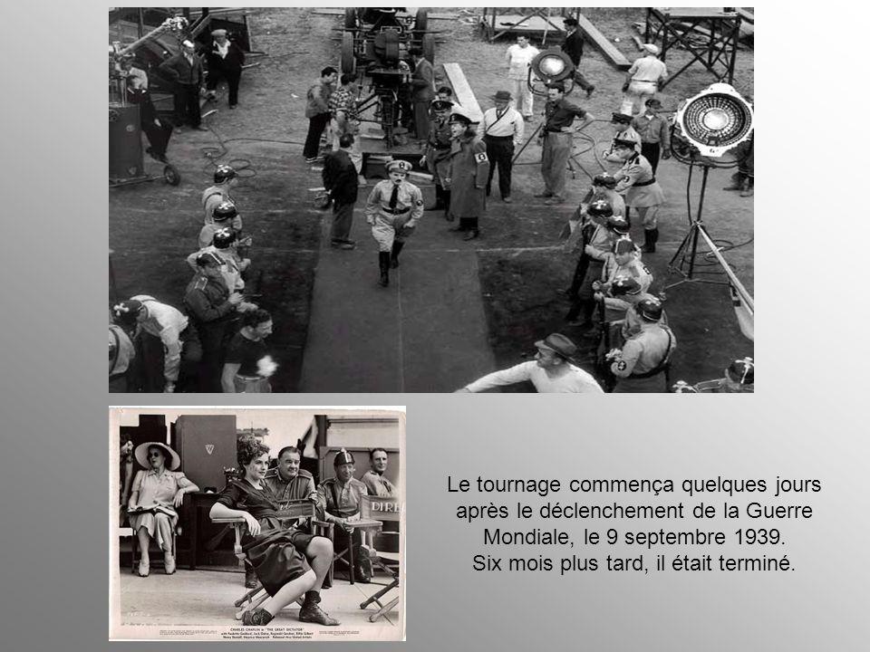 Une fois connue l'intention de Chaplin de tourner en dérision Hitler et Mussolini, se déchaîna violemment contre lui une campagne féroce menée par div