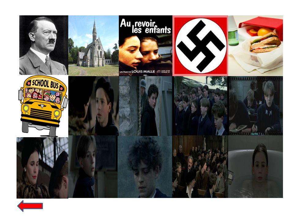 ce qui est arrivé nous avons regardé un film qui sappelle Au Revoir Les Enfants.