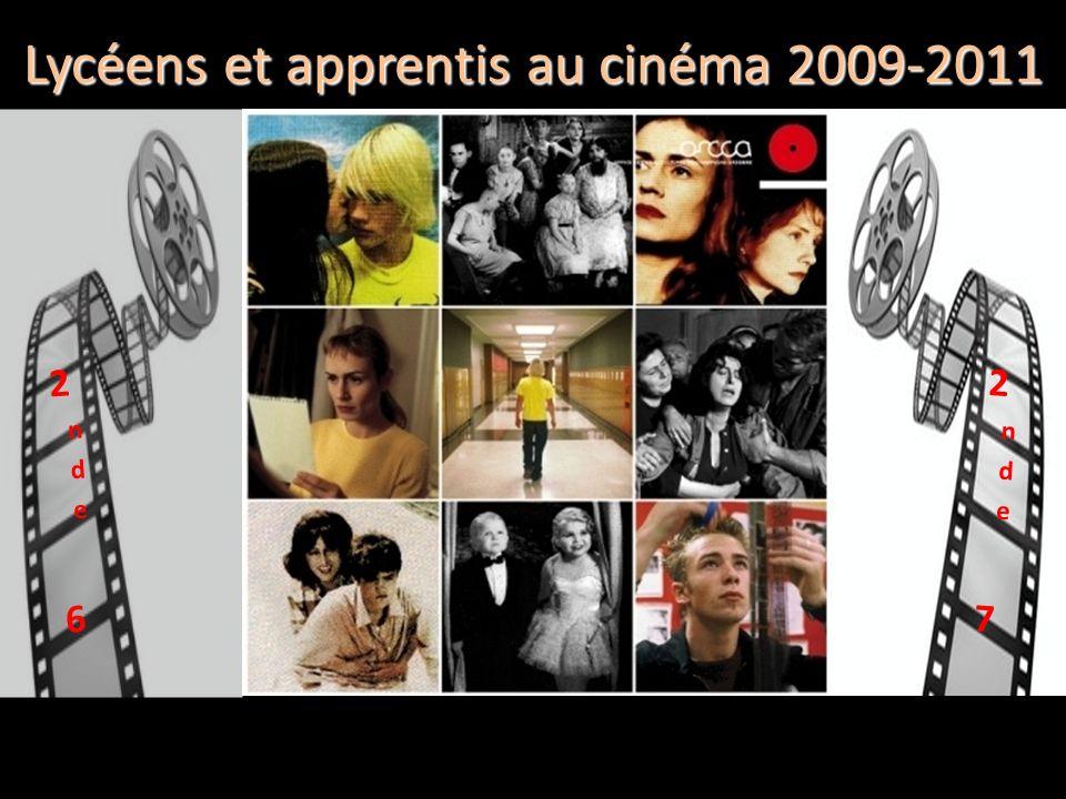Lycéens et apprentis au cinéma 2009-2011