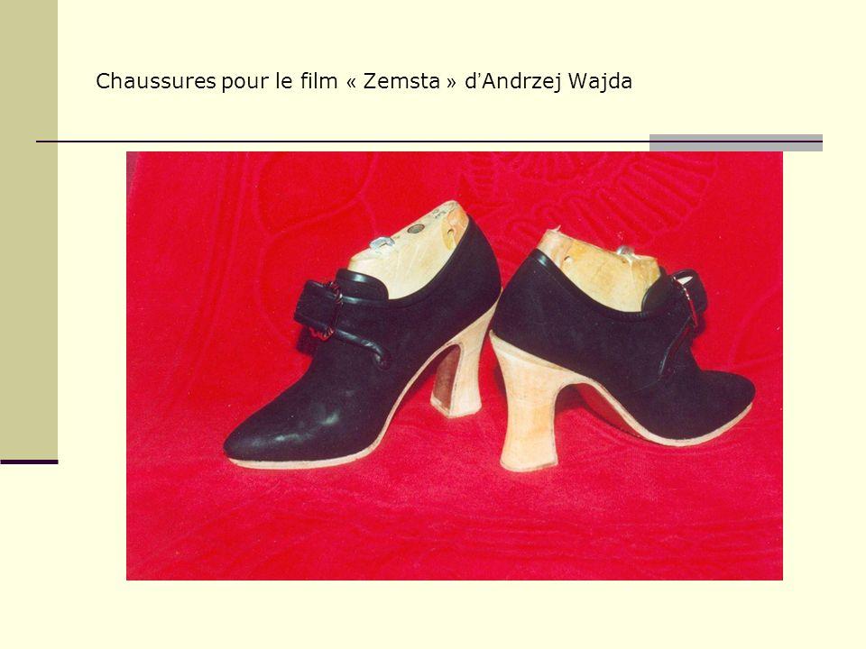 Chaussures pour le film « Zemsta » d Andrzej Wajda