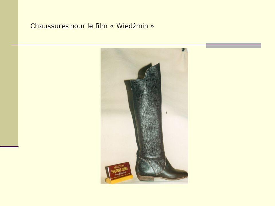 Chaussures pour le film « Wiedźmin »