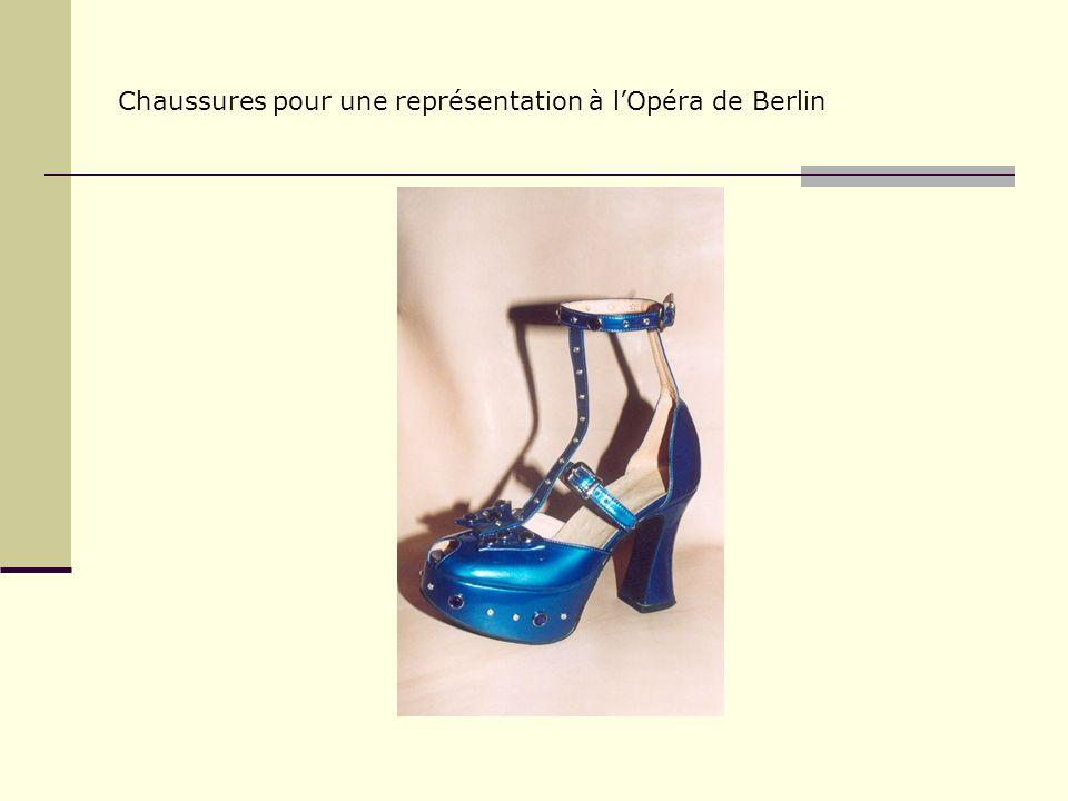 Chaussures pour le film « Stara Baśn » de Jerzy Hoffman