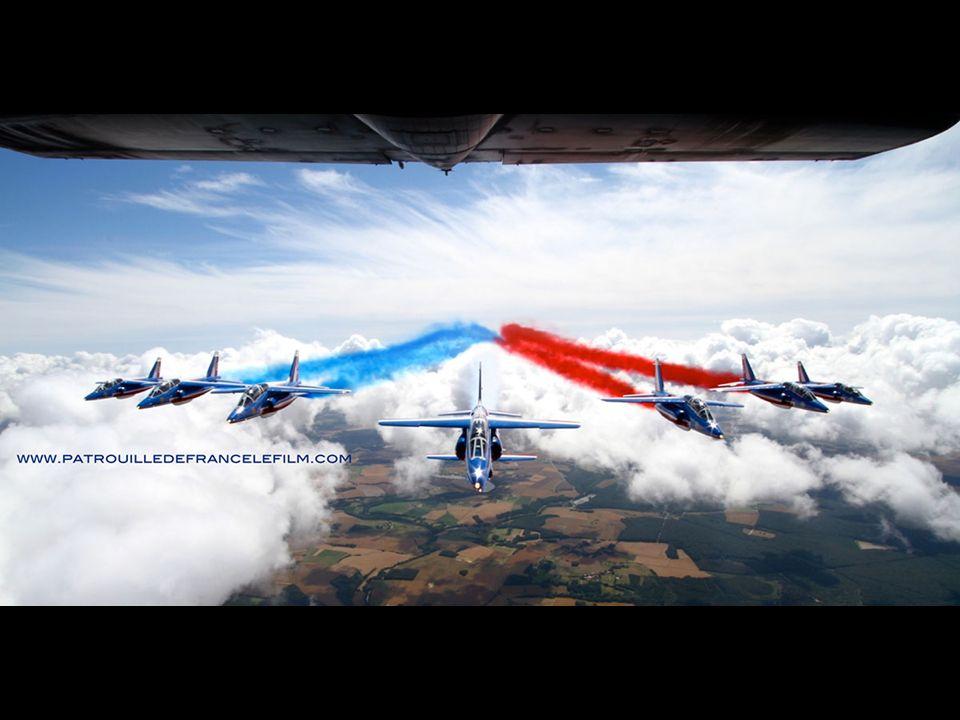 La formation de voltige de l armée de l air fête les 25-26 mai son soixantième anniversaire.