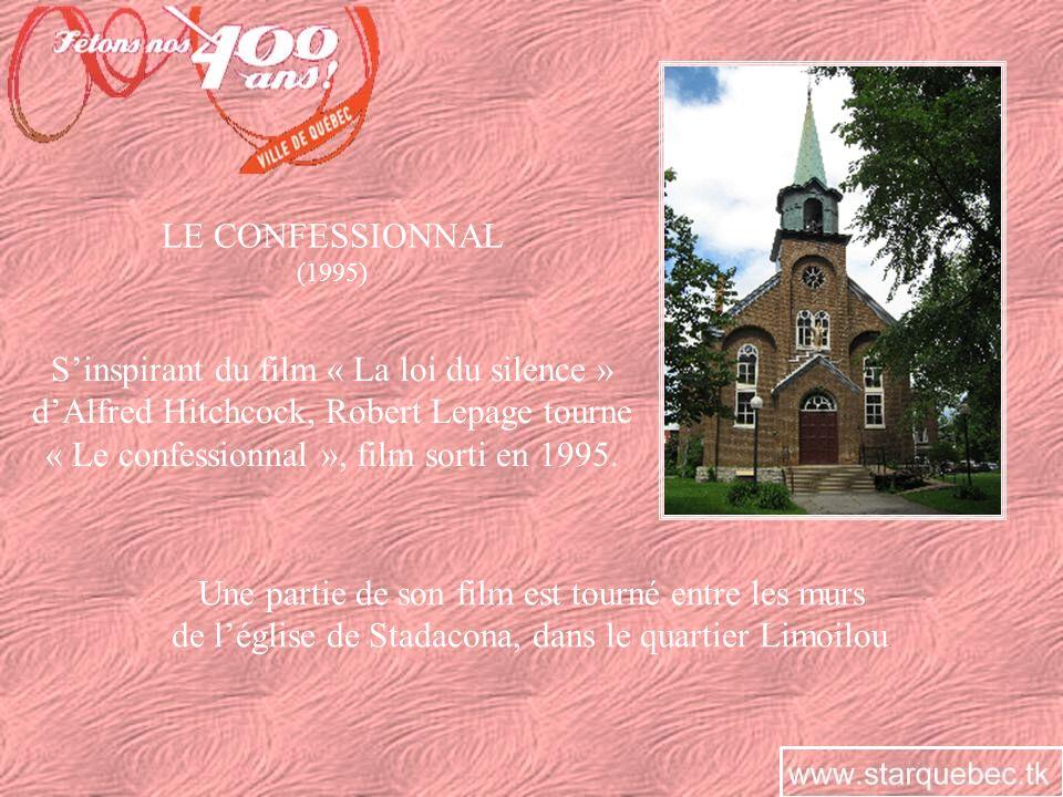 LE CONFESSIONNAL (1995) Sinspirant du film « La loi du silence » dAlfred Hitchcock, Robert Lepage tourne « Le confessionnal », film sorti en 1995. Une
