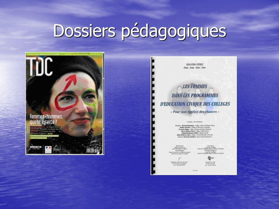 Dossiers pédagogiques